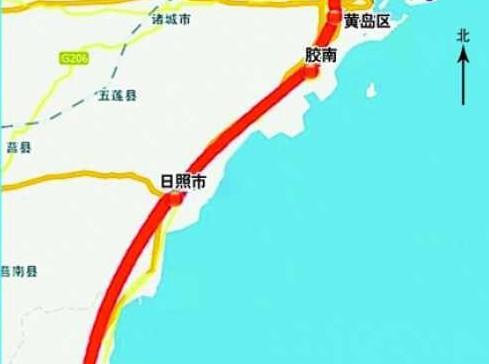 青连铁路自青岛北站引出,北连胶济客专,青荣城际和即将开工济青高铁